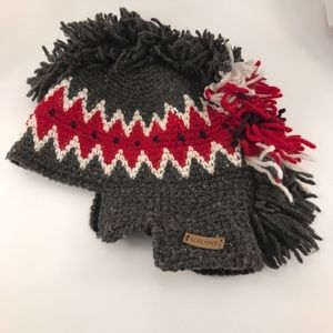 Screamer Knit Wool Hat